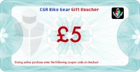 CGR Bike Gear - £5 Gift Voucher